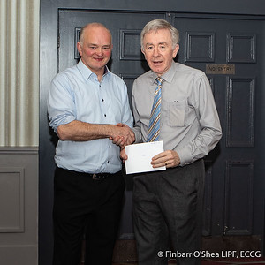 Grade A - Winner - Finbarr O'Shea. With Kevin Day