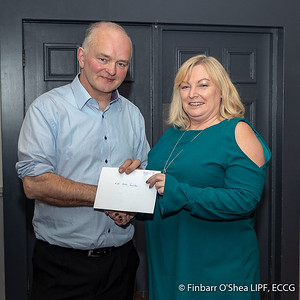 Grade C - Second Place - Miriam Keogh. With Kevin Day