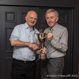 Photographer of the Year 2019, Winner - Finbarr O'Shea. With Kevin Day.