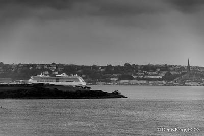 Serenade of the Seas at Cobh Cruise Terminal