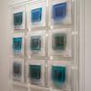 """BLUE ECHO     Dimensions 45X45"""""""