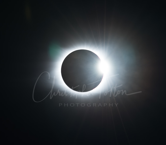 TOTALITY & DIAMOND RING EFFECT