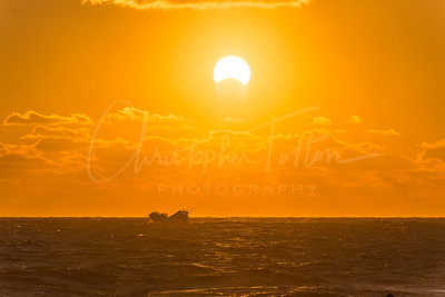 Making Way thru Seas During an Eclipse