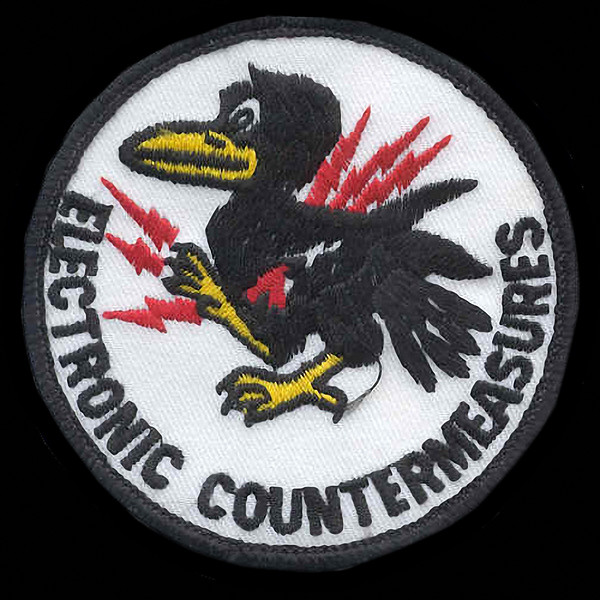 Crow ECM Electronic Warfare Raven<br /> Electronic Countermeasures Patch