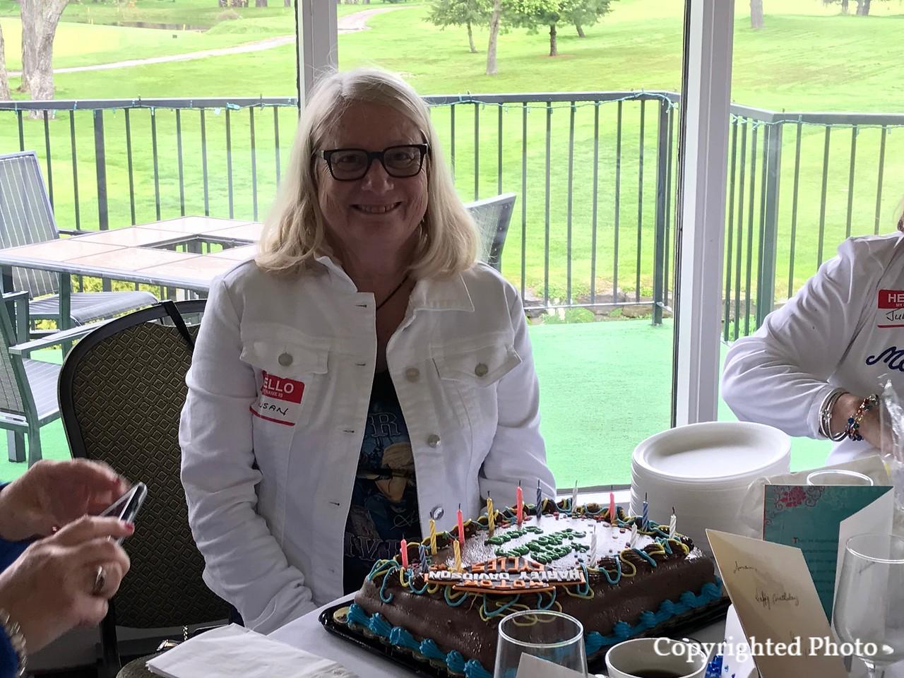 Susan Leslie the birthday girl!