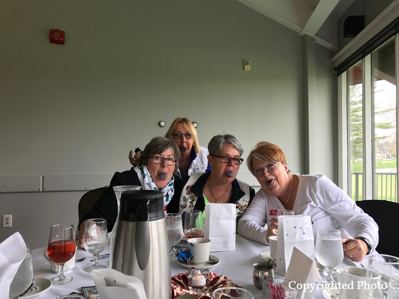 Blue Cupcakes left an impression of Haija, Susan, Karen, and Linda