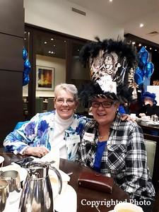 Brenda Thistle and Karen Howard