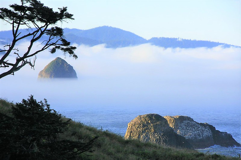 . This image is the view from Tillamook Head in the Ecola State Park.