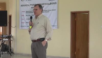 Aquaculture Stakeholders Workshop 2012