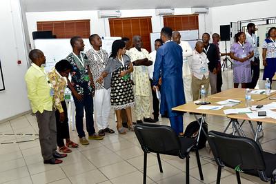 Delivering effective WASH training workshop in Warri