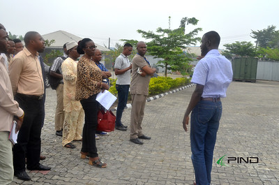FUPRE excursion to the ATED centre