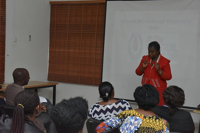 Mentrual hygeine day event in collaboration with the Women chapter of the Chemical society of Nigeria