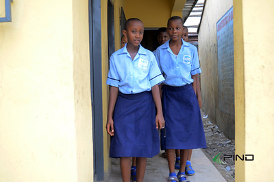 WASH in SChools project completeion vist at Okrika