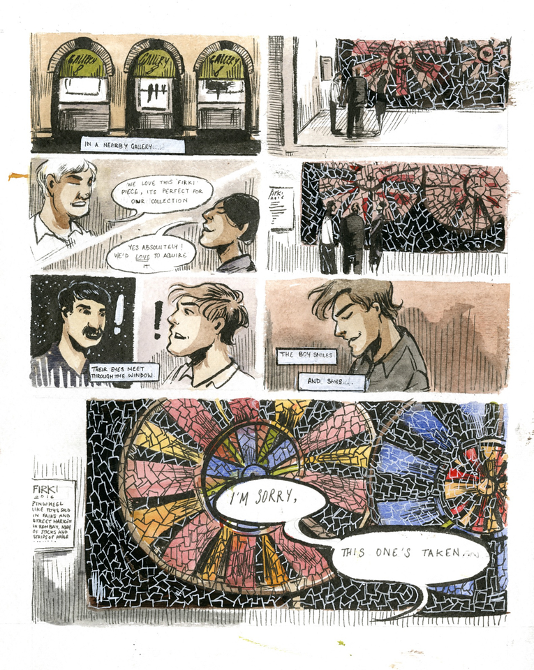 Tara Anand, Alternative Comics and Graphic Novels