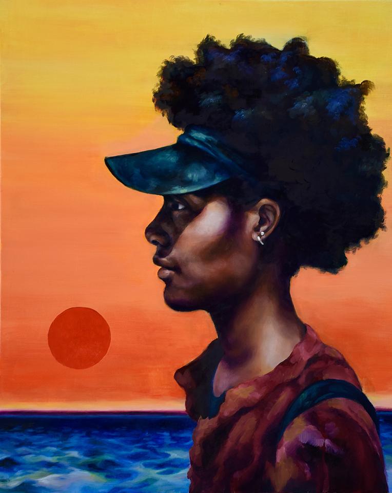 Skylar Laman, Oil Painting
