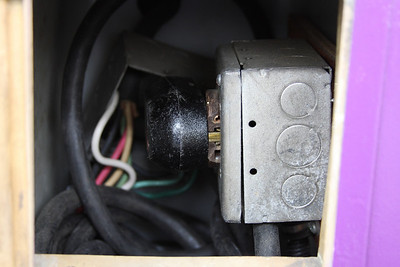 Generator Plug and 100v access