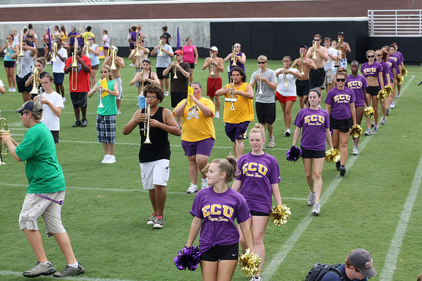 Band Camp Stadium Practice