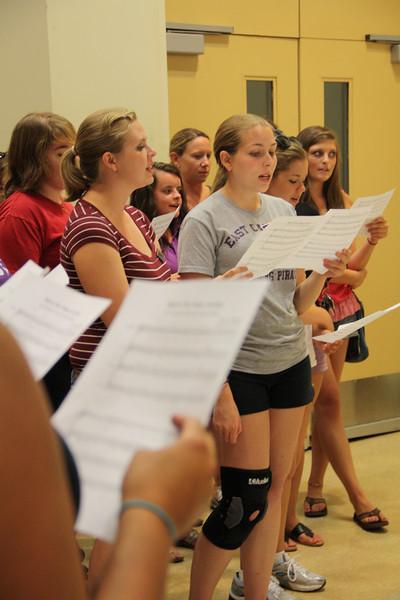 8-15-2011 Band Camp/Alma Mater