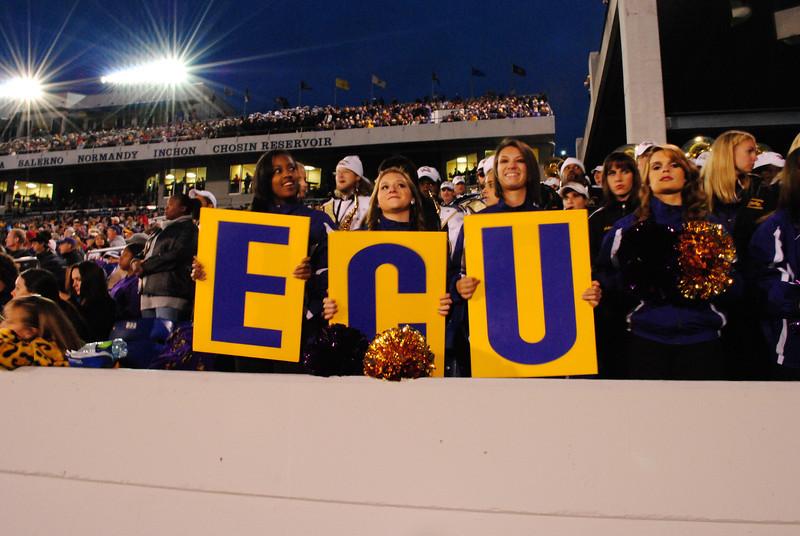 ECU vs Navy 2011