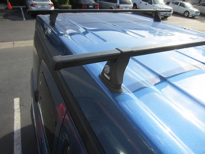 Thule Rack System - Square Bar + 430 Tower + TK mount