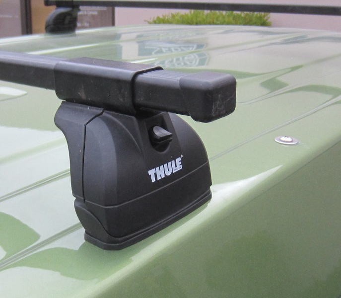 Option - Thule  Rack System - Podium Mounts, Tower and Square Bar