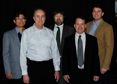 Yu-Chin Hsu, MIke Frazier, Kevin Thompson, Mike Leary, Andy Wright - panelists for DVCon 2011: Making Great Products Great