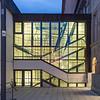 Von wem ist diese Glasfassade am Hessischen Landesmuseum?