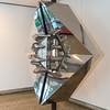 Helmut Lander DS, Edelstahl-Skulptur, 1979,