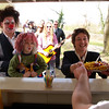 """Dreharbeiten am 21. April 2006 für den Kinofilm """"GG19"""" auf der Ludwigshöhe Darmstadt (Justizministerin Brigitte Zypries als Statistin)"""