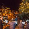 Weihnachtsbaum wird angeschaltet, 28. November 2019, Foto: Christoph Rau