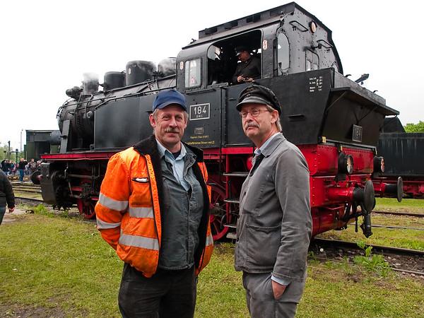 Beschreibung: Eisenbahnmuseum Darmstadt-Kranichstein, Bahntage 2010