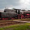 Eisenbahnmuseum Darmstadt-Kranichstein, Lok 23 042 vor der Abfahrt nach Darmstadt Hbf am 16. Mai 2010, Seite 30/31 im Buch