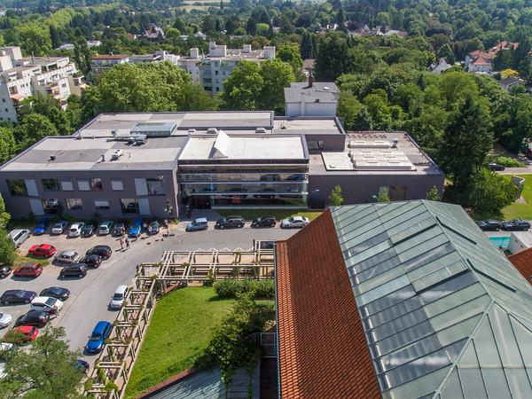 Hochschule Darmstadt, Fachbereich Gestaltung auf der Mathildenhöhe  (Foto: Christoph Rau)