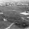 Darmstadt-Griesheim Air Field-aerial view of city & surround
