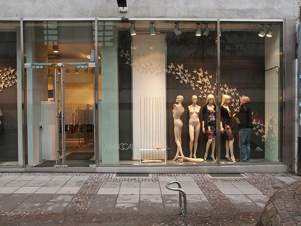Marc Cain-Store Darmstadt am 4. Februar 2011