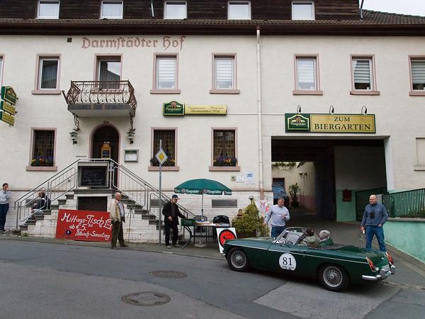 27. Internationale Nibelungenfahrt für Oldtimer des Renn- und Touring-Club Eberstadt (RTCE) am 26. April 2014 (Foto: Christoph Rau)