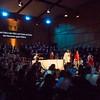 """Darmstädter Erstaufführung von Leonard Bernsteins """"Mass"""" im Darmstadtium (Wissenschafts- und Kongresszentrum Darmstadt) am 30. Oktober 2016"""