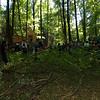 5. Internationaler Waldkunstpfad »Freiheit und Wildnis« vom 2.8.-26.9.2010 im Wald am Böllenfalltor, Darmstadt; Proben zur Kinderoper Hänsel und Gretel