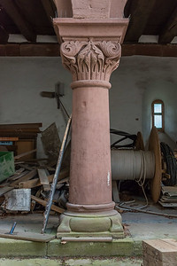 Baustelle Schloß Babenhausen (Foto: Christoph Rau)