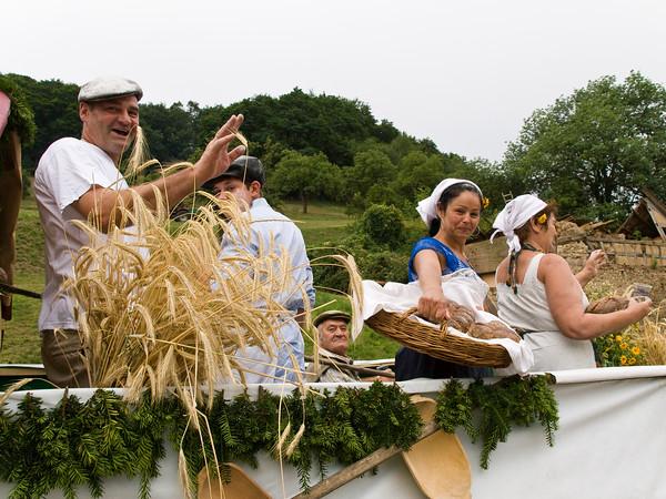 Festumzug zum Jubiläum 850 Jahre Hambach im Odenwald am 19. Juli 2015  (Foto: Christoph Rau)