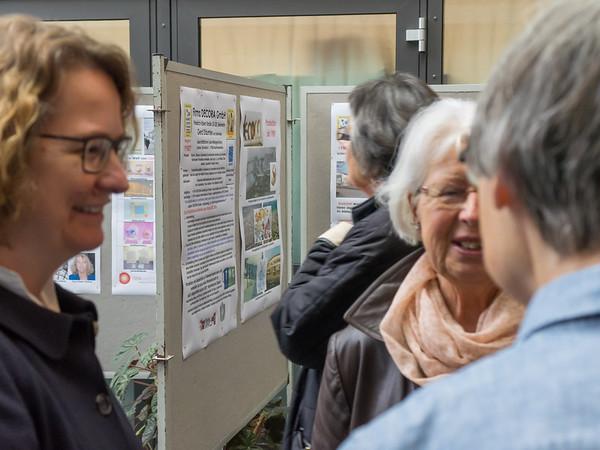 """Eröffnung der Ausstellung """"Kunststoffproduktion nach dem zweiten Weltkrieg"""", 10. Oktober 2016, Rathausfoyer Seeheim-Jugenheim"""
