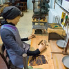 """Kunststoffstrasse im Landkreis Darmstadt-Dieburg: Museum Ober-Ramstadt, Führung durch die Abteilung """"Vom Kammmacher zur Kunststoffindustrie"""", 28. Oktober 2016"""