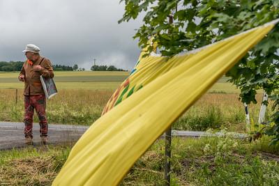 """""""Heim-Wehen-Fern-Sichten"""", Literarische Wanderung im Vogelsberg, 11. Juli 2021 (Foto: Christoph Rau)"""