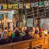 """""""Klub Siebenundzwanzig – Gesprächskonzert: Musik und Poesie"""" im Rahmen des Kultursommer Mittelhessen, 13. Juli 2019 in der Sägewerkshalle des ehemaligen Holzwerks Bruno Berthold, Ilbeshausen-Hochwaldhausen"""