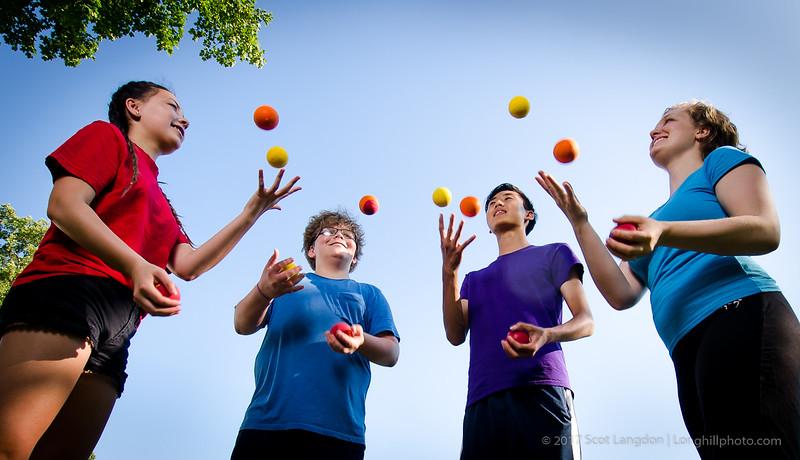 Team Juggling
