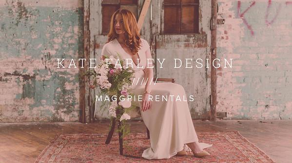 KATE FARLEY DESIGN ////// MAGGPIE RENTALS