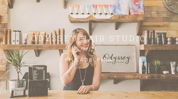 ODYSSEY HAIR STUDIO ////// PHILADELPHIA