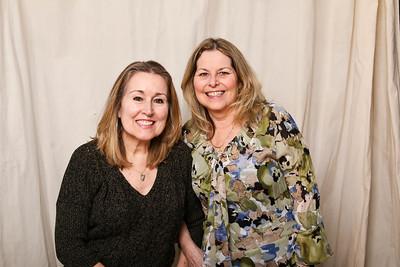 Irish Twins. Sandy Henderson and sister Maureen.
