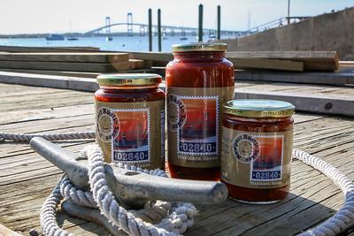 Newport Rustic Sauce, Cindy Kerr and David Fairclough