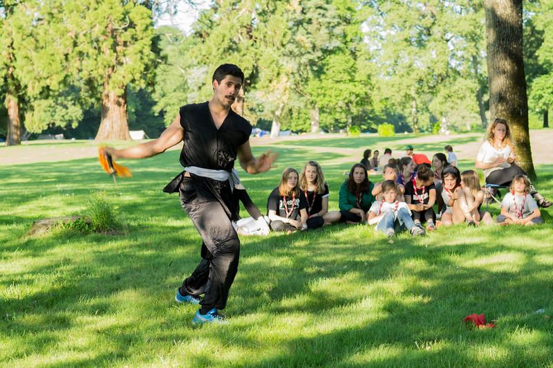 Kung-fu.. avec des sabres